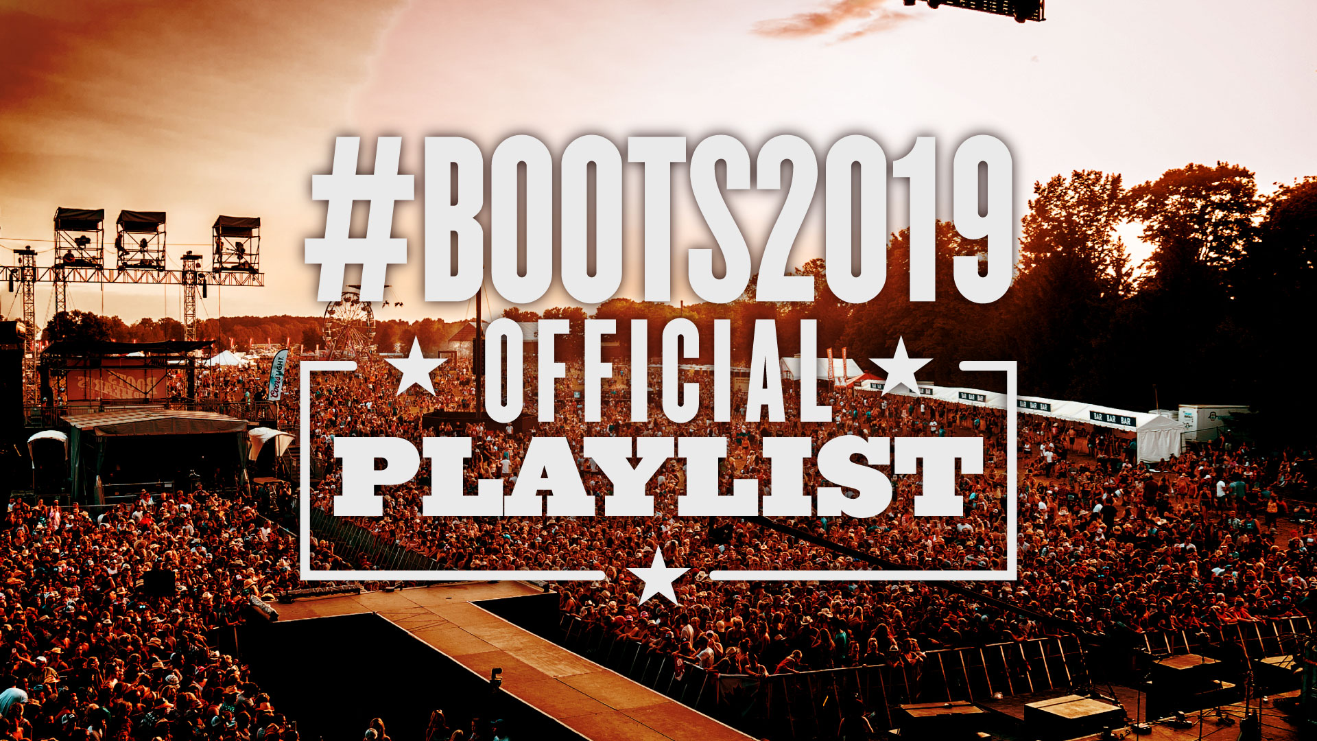 #Boots2019 Official Playlist