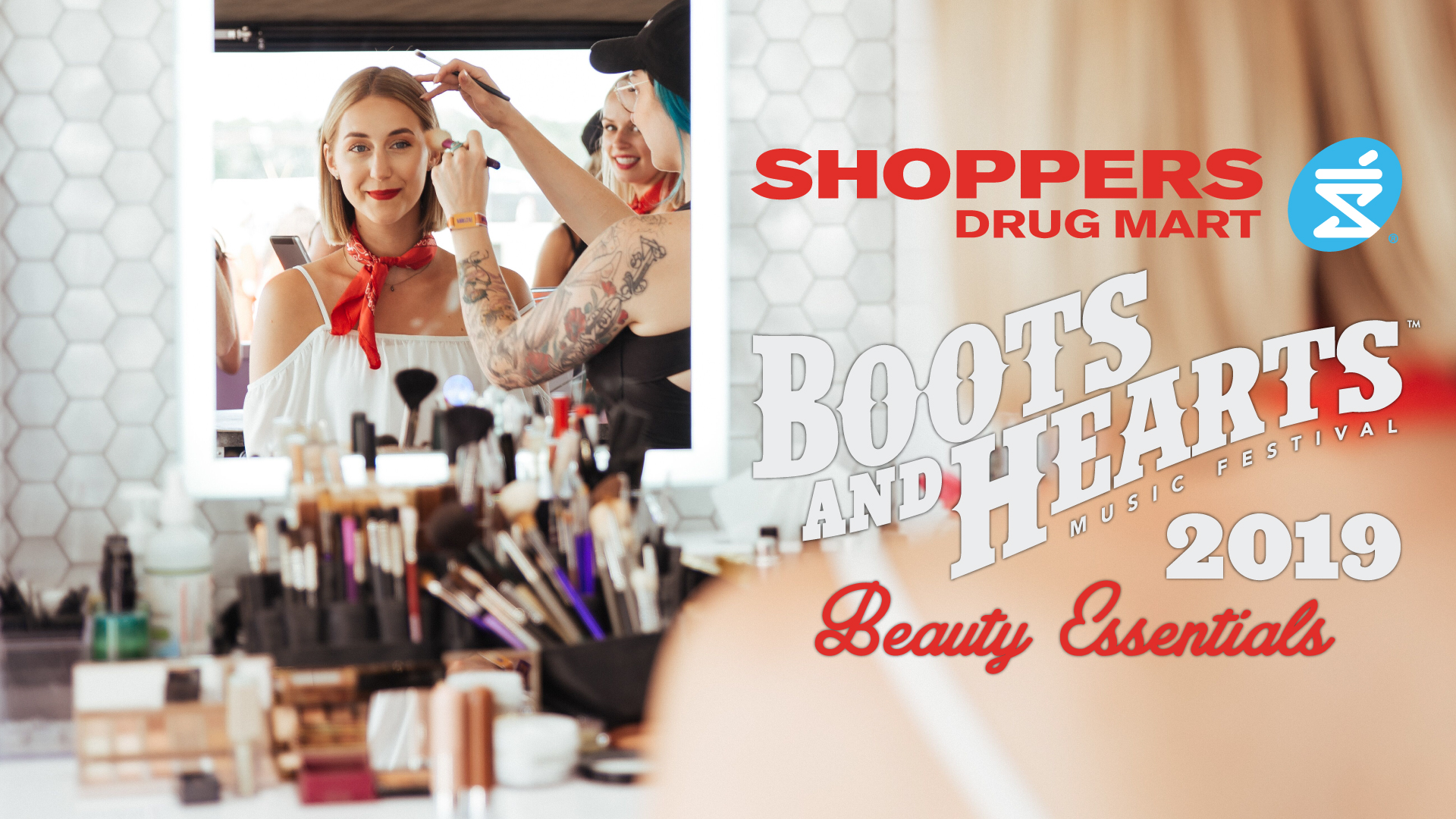 Boots and Hearts Beauty Essentials by Shoppers Drug Mart!