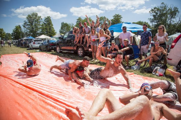 Boots-and-Hearts-2017-camping-slip-and-slide