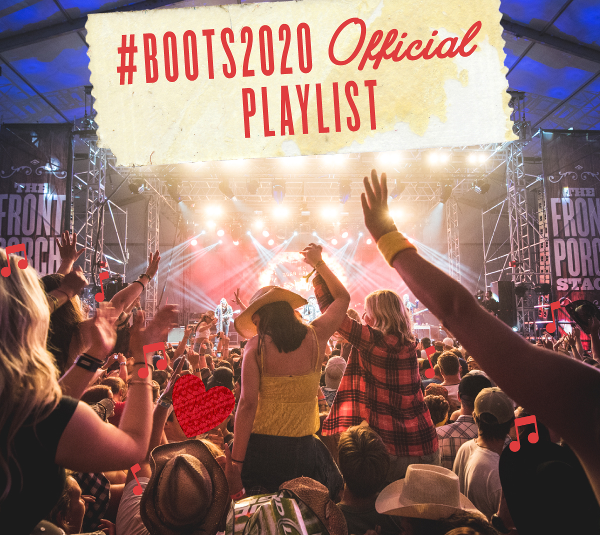 Your #Boots2020 Official Playlist is LIVE
